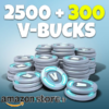 خرید Fortnite 2800 V-bucks