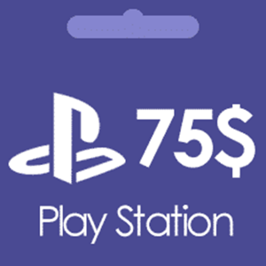 خرید گیفت کارت 75 دلاری پلی استیشن PSN