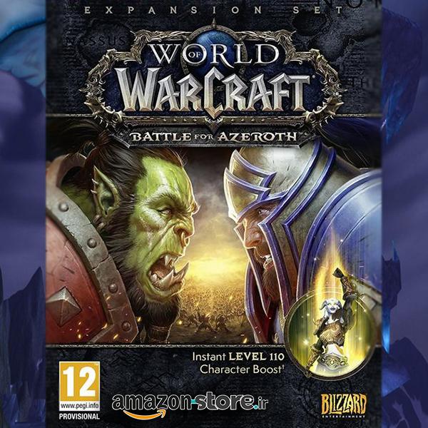 خرید اورجینال World of Warcraft: Battle for Azeroth   Lvl 110